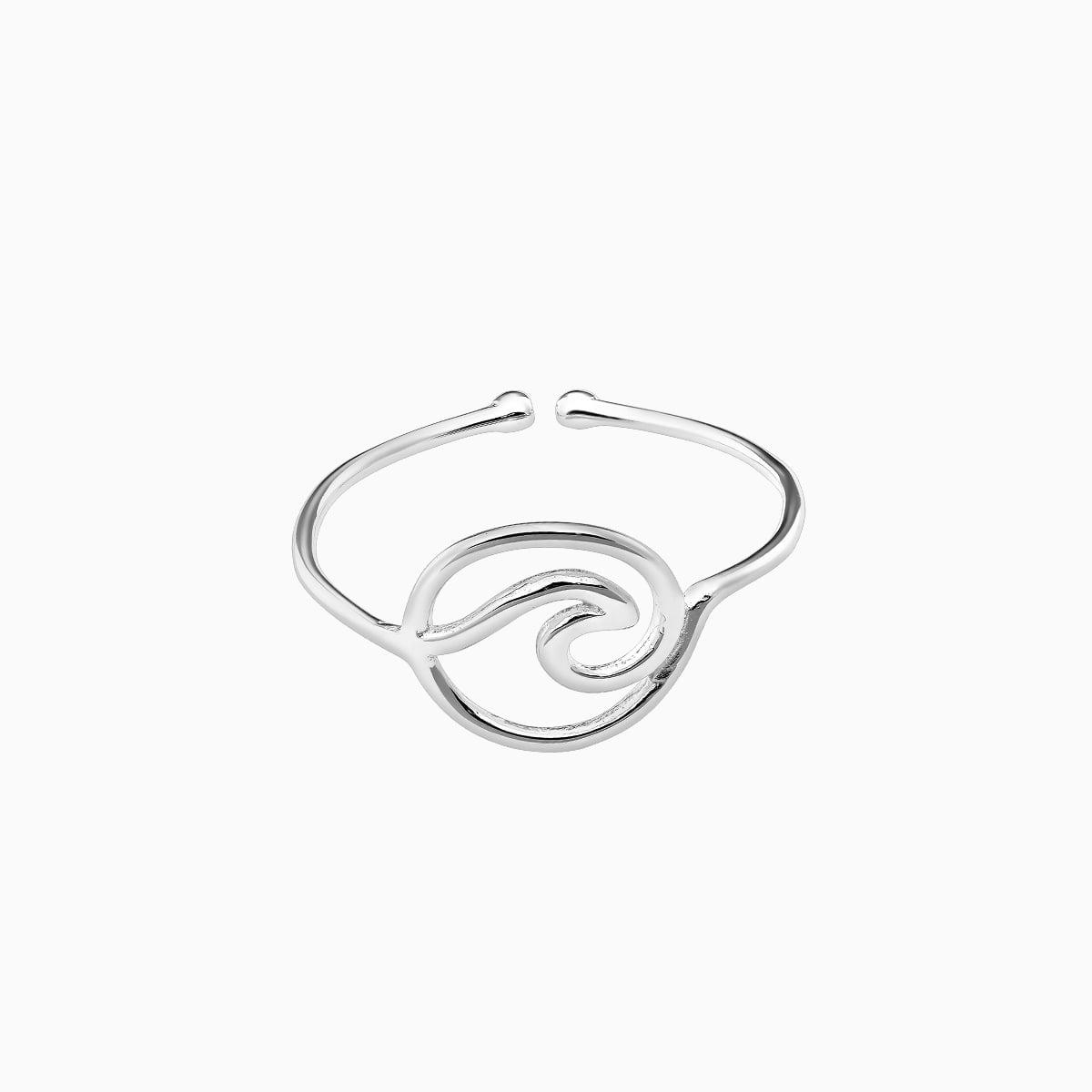 Inel din argint Manissi Wave