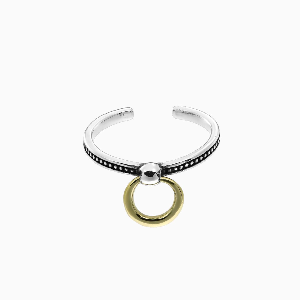 Inel din argint Manissi Gold Pendant