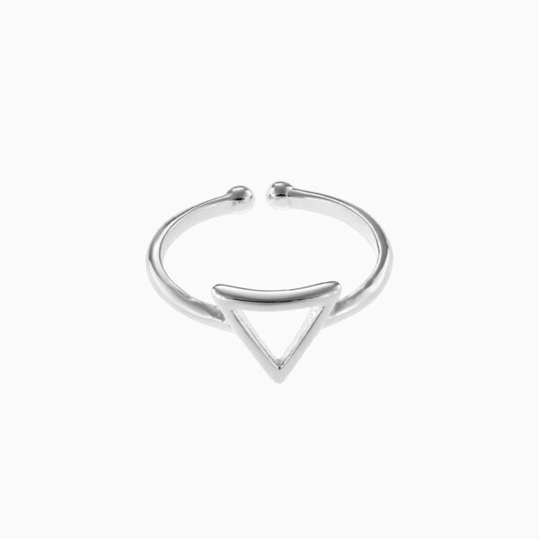 Inel din argint Manissi Mini Triangle