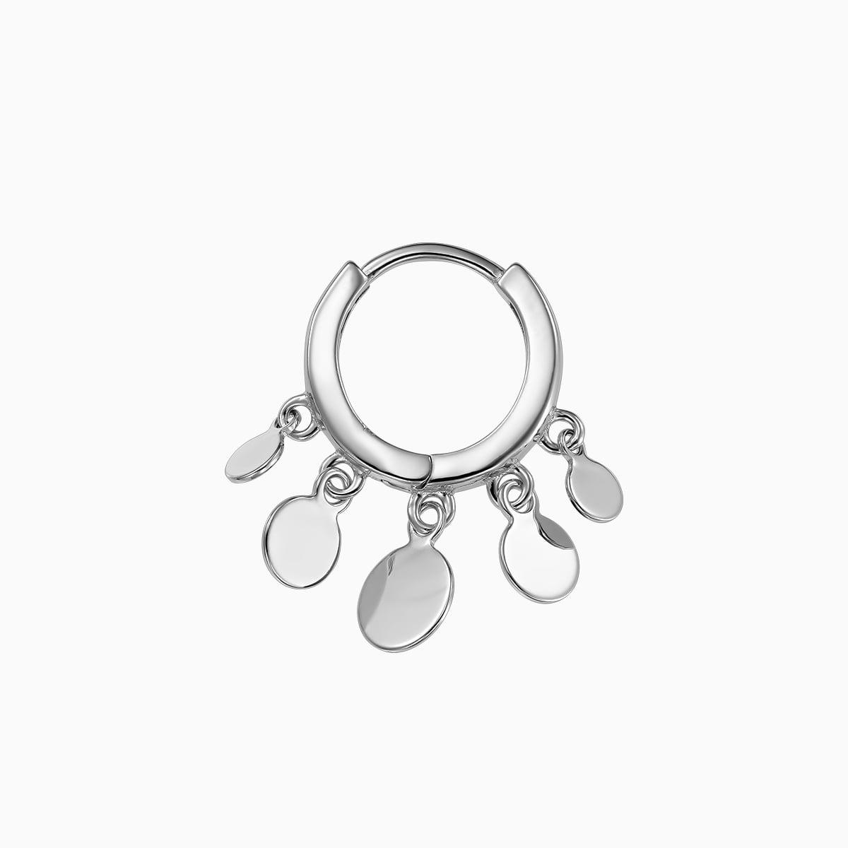 Cercei din argint Manissi Gipsy Hoop