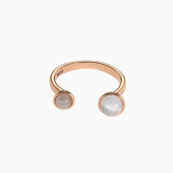 Inel din argint Manissi Pink Stone
