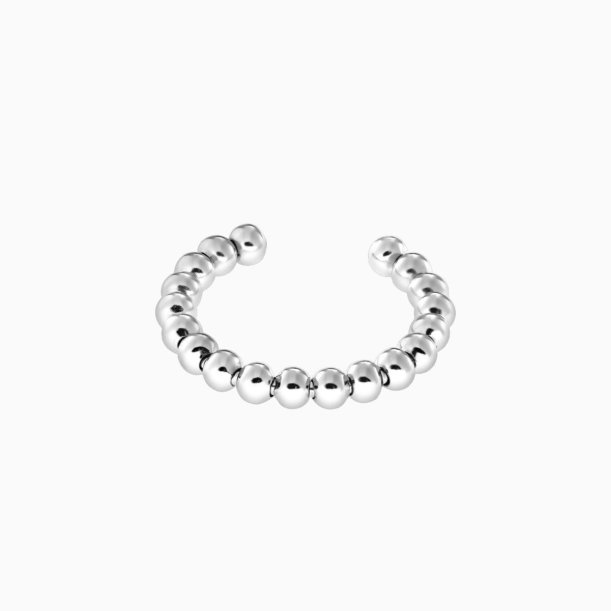 Inel din argint Manissi Small Beads
