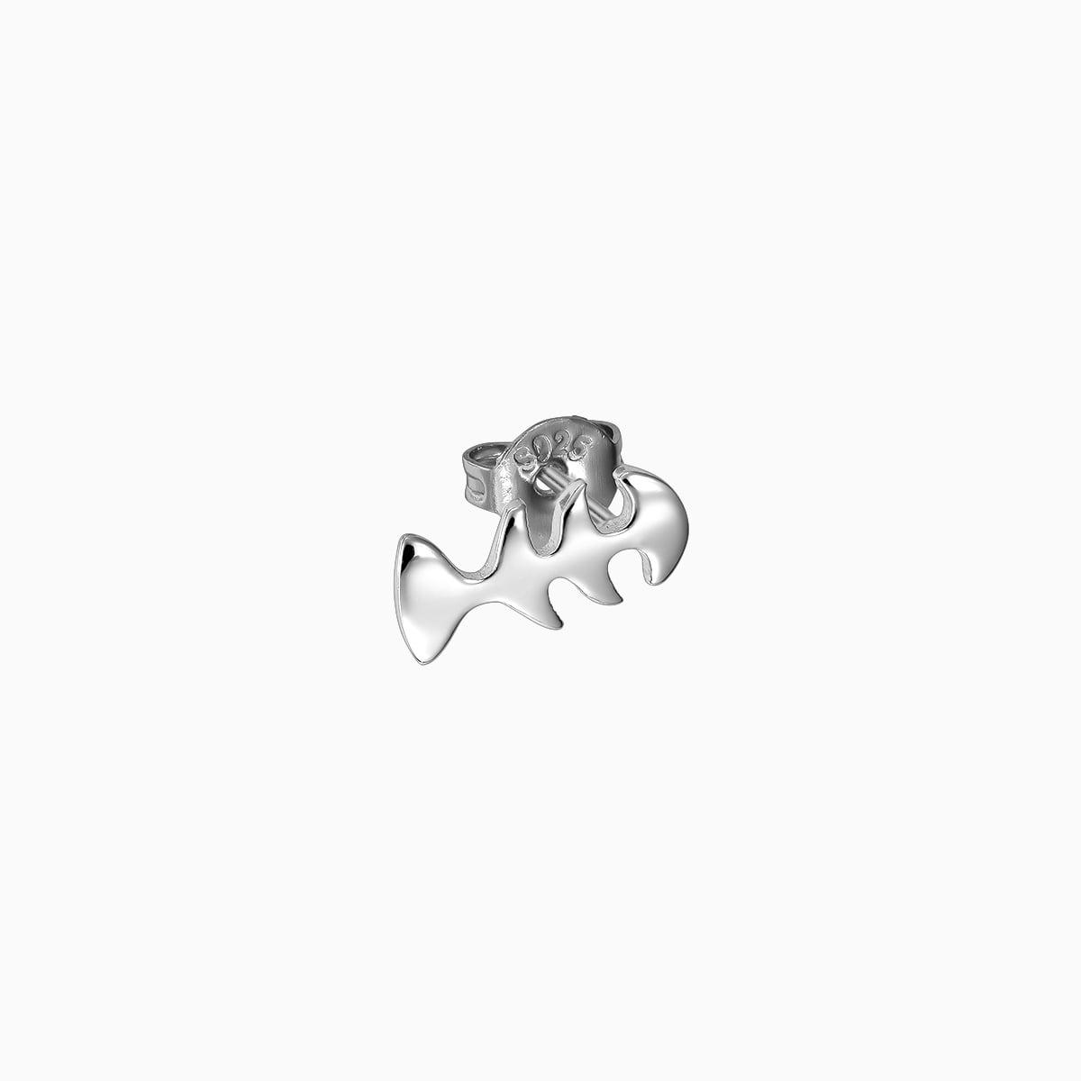 Cercei din argint Manissi CatFish Stud