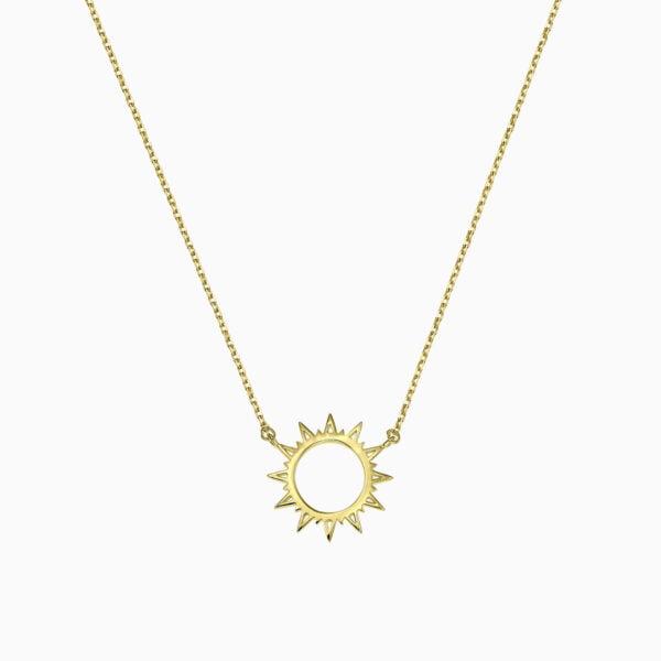 Lant din argint Manissi Sunshine Gold