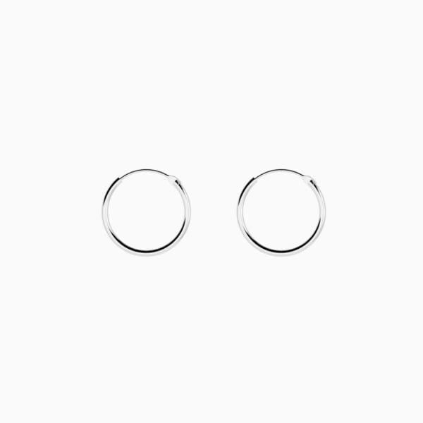 Cercei din argint Manissi Simple Hoop S