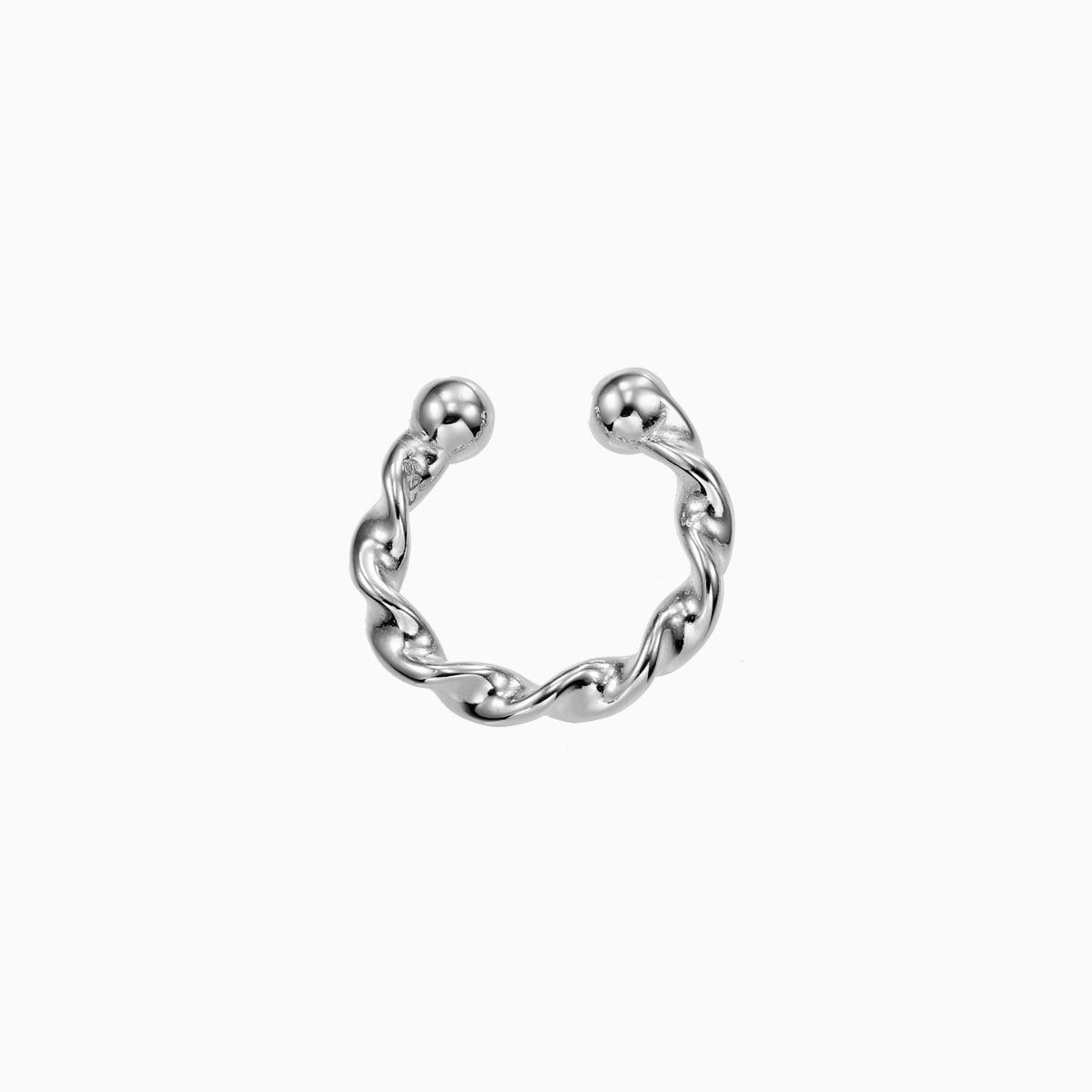 Cercel din argint Manissi Twist Cuff