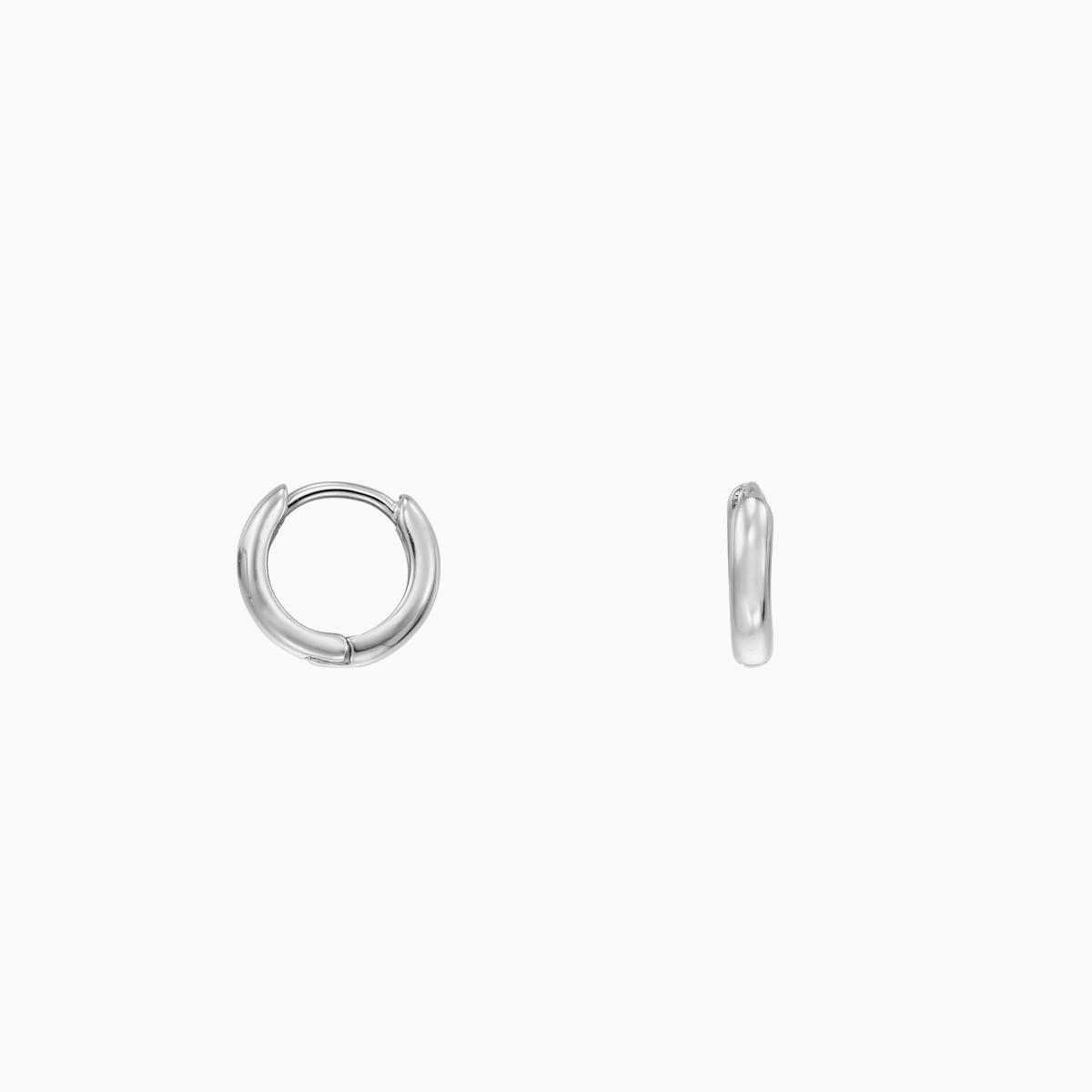 cercei din argint mici de 7 mm