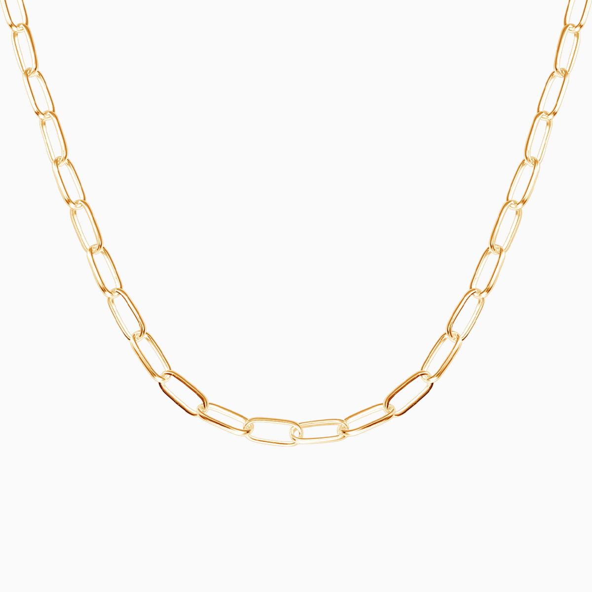 Lant din argint Manissi Chain Gold